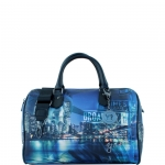 Bauletto - Y Not? Borsa Bauletto M Black Gun Metal YNY Broadway I 318 BRO