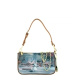 Tracolla - Y Not? Borsa Tracolla S Dark Tan Gold YPAR Mademoiselle I 312 MAD