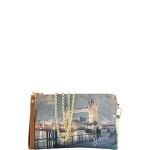 Pochette - Y Not? Borsa Pochette M Dark Tan Gold YLON Golden Bridge I 303 GBD