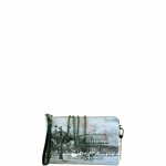 Pochette - Y Not? Borsa Pochette S Grey Gun Metal YROM Romantic Coach I 384 ROC