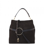 Sacca - Gianni Chiarini Borsa Shoulder Bag BS 6011 CM SFY Ebony / Testa Moro