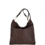 Shoulder Bag - Gianni Chiarini Borsa Shoulder Bag BS 6155 RMN RE RIV Dark Brown