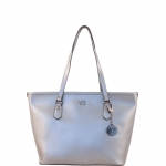 Shopping bag - Y Not? Borsa Shopping Bag M 796 M colore Silver