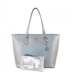 Shopping bag - Y Not? Borsa Shopping Bag L 797 M colore Silver
