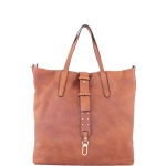 Shopping bag - Gianni Chiarini Borsa Shopping Bag L BS 6156 RMN/RE-RIV Miele