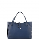 Shopping bag - Gianni Chiarini Borsa Shopping Bag L BS 6161 GRN Navy Blu
