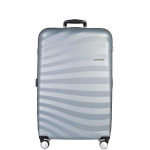Trolley - American Tourister Valigia Trolley Oceanfront Spinner L Sky Silver