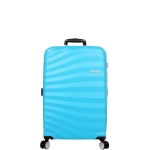 Trolley - American Tourister Valigia Trolley Oceanfront Spinner S Spring Blue