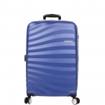 Trolley - American Tourister Valigia Trolley Oceanfront Spinner L Ocean Blue