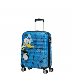 Trolley - American Tourister Valigia Trolley Wavebreaker Disney Spinner S Donald Duck
