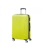 Trolley - American Tourister Valigia Trolley Tracklite Spinner M Sunny Lime