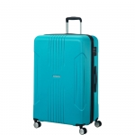 Trolley - American Tourister Valigia Trolley Tracklite Spinner L Exp Sky Blue