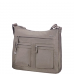 Shoulder Bag - Samsonite Borsa Shoulder Bag Hobo Move 2.0 M Exp. Army Grey