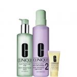 Esfolianti - Clinique Clarifying Lotion 2 - Pelle da Arida a Normale TIPO 2 + Liquid Facial Soap Mild Big Deal