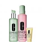 Esfolianti - Clinique Clarifying Lotion 3 - Pelle da Normale a Oleosa TIPO 3 + Liquid Facial Soap Oily Big Deal