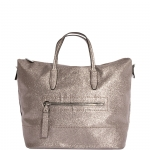 Shopping bag - Nalì Borsa Shopping Bag Sporty Silver Glitter