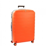 Trolley - Roncato Valigia Trolley 4R BOX 2.0 L Arancio / Zaffiro