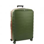 Trolley - Roncato Valigia Trolley 4R BOX 2.0 L Verde Militare / Arancio