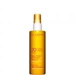 media protezione - Clarins Spray Solaire Lait Fluide Douceur  UVA/UVB 20 - Latte-Fluido Solare Spray Delicato Antietà Idratante SPF 20