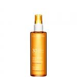 alta protezione - Clarins Spray Solaire Huile Embellissante UVA/UVB 30 - Olio Solare Spray Corpo e capelli SPF 30