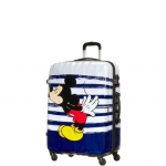 Trolley - American Tourister Valigia Trolley Disney Legend Spinner S AlfaTwist 2.0 Mickey Kiss