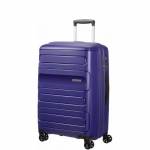Trolley - American Tourister Valigia Trolley Sunside EXP Spinner L Navy