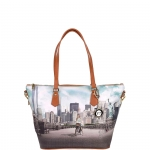 Shopping bag - Y Not? Borsa Shopping Bag M New York Big Apple J 396 BIG AP