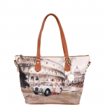 Shopping bag - Y Not? Borsa Shopping Bag L Roma Life in Rome J 397 LIFE I