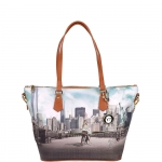 Shopping bag - Y Not? Borsa Shopping Bag L New York Big Apple J 397 BIG AP