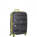 Trolley - American Tourister Valigia Trolley Bon Air Spinner S Strict Grey / Lime