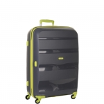 Trolley - American Tourister Valigia Trolley Bon Air Spinner M Grey / Lime