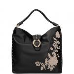 Shoulder Bag - Liu jo Borsa Shoulder Bag L Darsena punto ciniglia A68035E0022 Nero