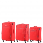 Trolley - American Tourister Trolley Kit Spinner S- M- L Rally Lava Red