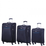 Trolley - American Tourister Trolley Kit Spinner S- M- L Rally Midnight Navy