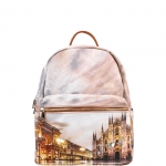 Zaino - Y Not? Zaino Backpack S Tan Gold Milano Sunset K 380