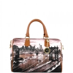 Bauletto - Y Not? Borsa Bauletto M Tan Gold New York East River K 318