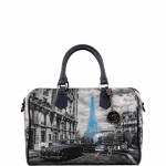 Bauletto - Y Not? Borsa Bauletto M Dark Blue Gun Paris Blue Rain K 318