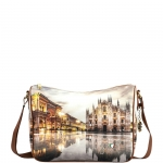 Shoulder Bag - Y Not? Borsa Shoulder Bag M Tan Gold Milano Sunset K 370