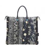 Shopping bag - Gabs Shopping Bag Piatta Trasformabile G3 L Indaco