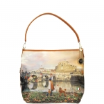 Shoulder Bag - Y Not? Borsa Shoulder Bag M Tan Gold Roma Joyful Wind K 349