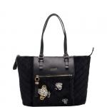 Shopping bag - Liu jo Borsa Shopping Bag L Velvet Quilted N68060T9093 Nero