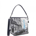 Shoulder Bag - Y Not? Borsa Shoulder Bag M Dark Blue Gun Paris Blue Rain K 349