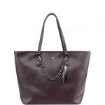 Shopping bag - Y Not? Borsa Shopping Bag L SAF04 Chocco