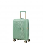 Trolley - American Tourister Valigia Trolley Soundbox Spinner Exp S Almond Green/Gold