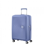 Trolley - American Tourister Valigia Trolley Soundbox Spinner Exp M Denim Blu