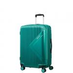 Trolley - American Tourister Valigia Trolley Modern Dream Spinner EXP M Emerald Green