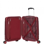 Trolley - American Tourister Valigia Trolley Modern Dream Spinner EXP M Wine Red