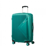 Trolley - American Tourister Valigia Trolley Modern Dream Spinner EXP L Emerald Green