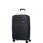 Trolley - American Tourister Valigia Trolley Aero Dream Spinner Exp M Jet Black