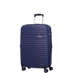 Trolley - American Tourister Valigia Trolley Aero Dream Spinner Exp M Nocturne Blue